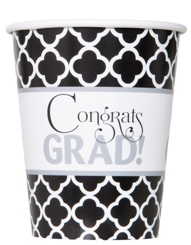 GRADUATION CUPS - PACK OF 8