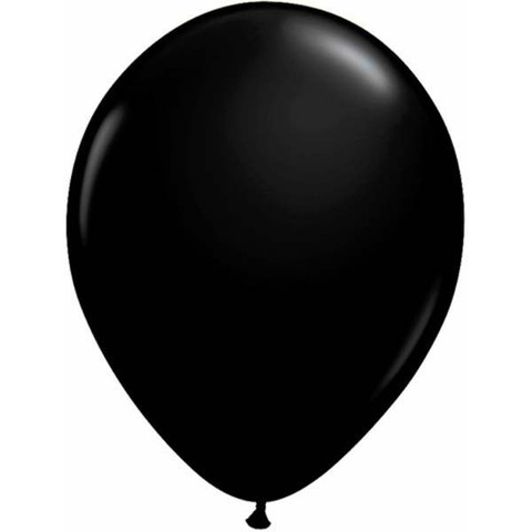 BALLOONS LATEX - ONYX BLACK PROFESSIONAL PACK 15
