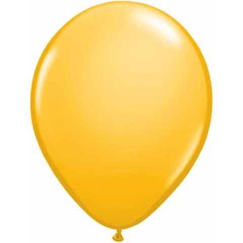 BALLOONS LATEX - GOLDENROD FASHION TONE PACK OF 25