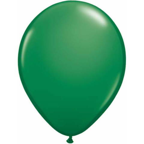 BALLOONS LATEX - STANDARD GREEN PROFESSIONAL PK 25