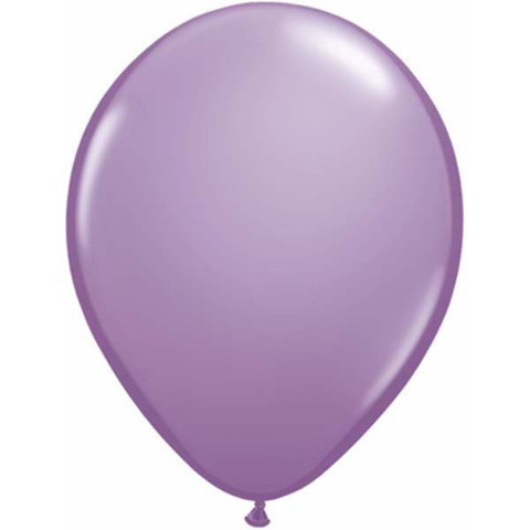 BALLOONS LATEX - SPRING LILAC FASHION TONE BALLOONS PACK OF 25
