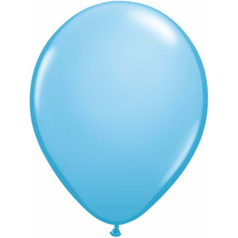BALLOONS LATEX - STANDARD LIGHT BLUE PACK 25