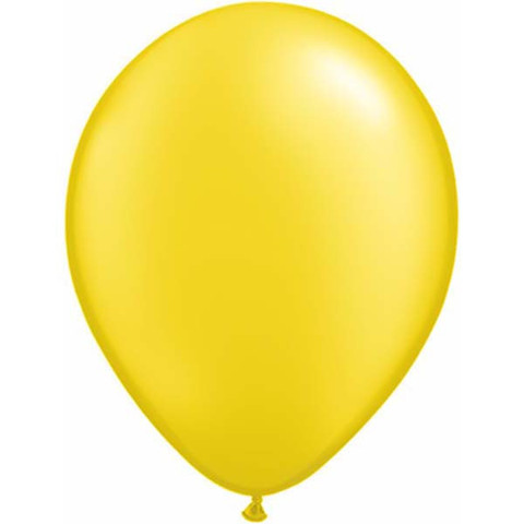 BALLOONS LATEX - YELLOW PROFESSIONAL PACK 15