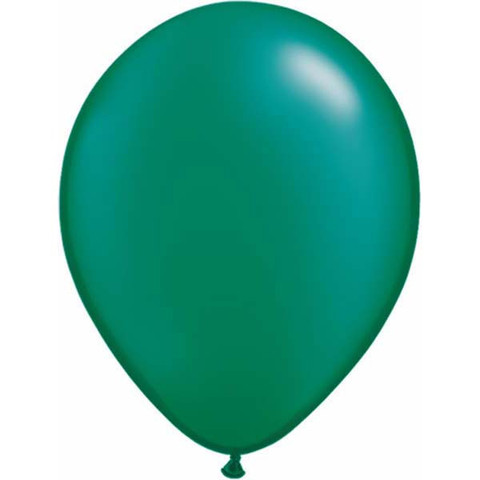 BALLOONS LATEX - EMERALD GREEN PROFESSIONAL PACK 15
