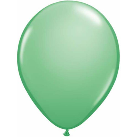 BALLOONS LATEX - WINTERGREEN FASHION TONE PACK OF 25