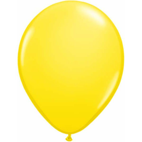 BALLOONS LATEX - STANDARD YELLOW PACK 25