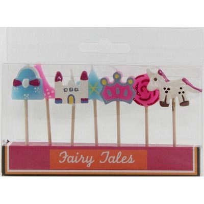 FAIRY TALE PICK CANDLES - PACK 7