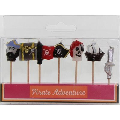 PIRATE PICK CANDLES - PK 7