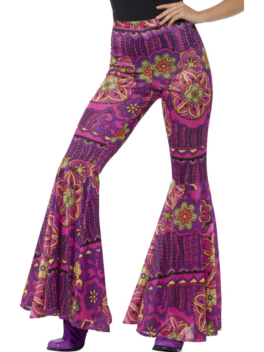1960'S ADULT WOODSTOCK INSPIRED FLARED TROUSERS