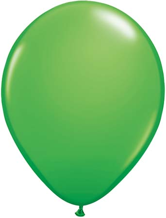 BALLOONS LATEX - SPRING GREEN FASHION TONE PACK OF 25