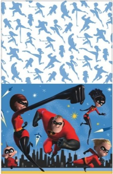 DISNEY INCREDIBLES PARTY TABLE COVER