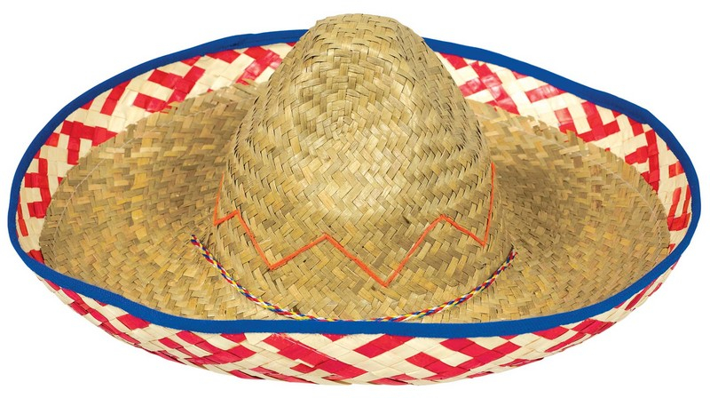 MEXICAN SOMBRERO - PATTERNED