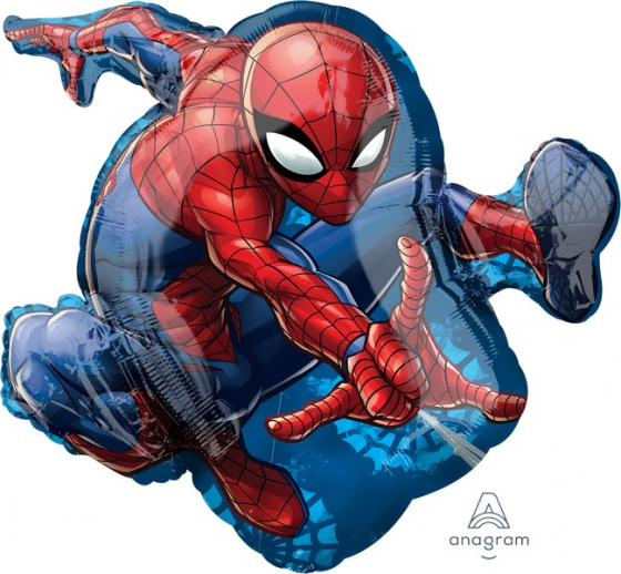 FOIL SUPER SHAPE BALLOON - SPIDERMAN XL