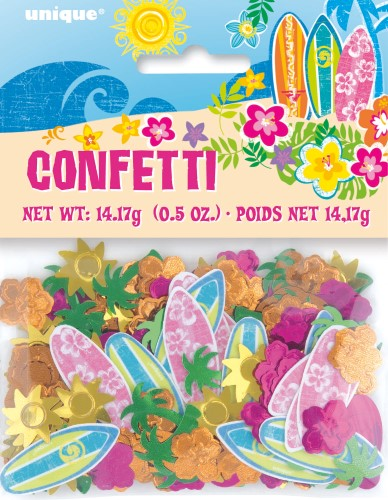 TABLE SCATTERS - HAWAIIAN HULA BEACH PARTY CONFETTI