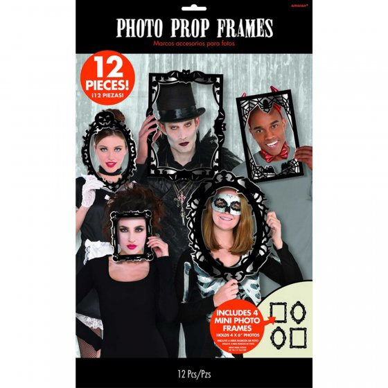 SELFIE PHOTO BOOTH PROPS - GOTHIC FRAMES
