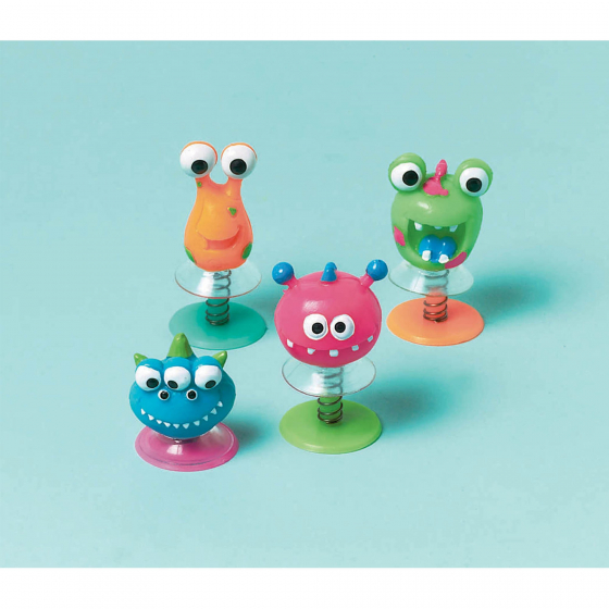 PARTY FAVOURS - ALIEN CREATURE POP UPS PACK OF 12