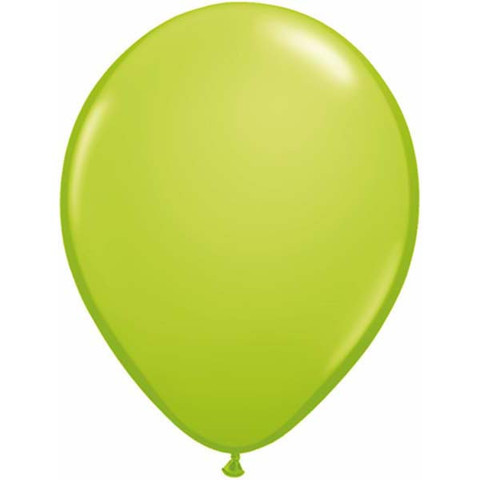 BALLOONS LATEX - LIME FASHION TONE PACK OF 25