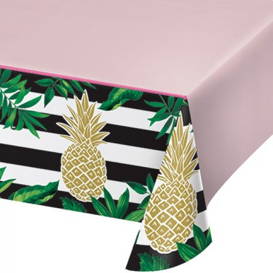 HAWAIIAN GOLDEN PINEAPPLE TABLECOVER
