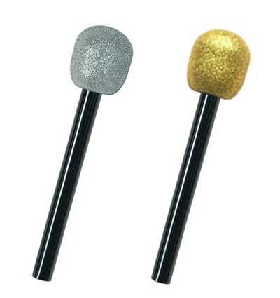 HOLLYWOOD/ ROCKSTAR GLITTER MICROPHONE