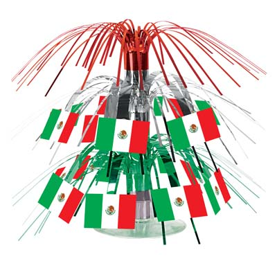 MEXICAN FLAG TABLE CENTREPIECE