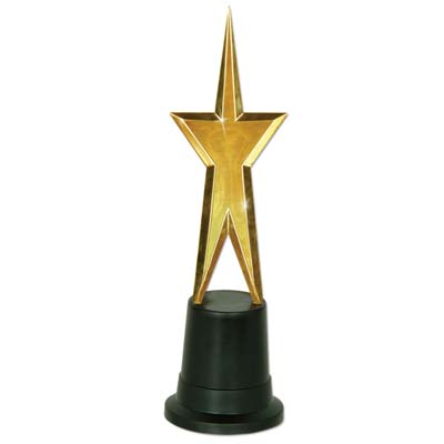 AWARDS STATUE - GOLD STAR
