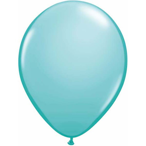 BALLOONS LATEX - CARIBBEAN BLUE FASHION TONE PACK OF 25