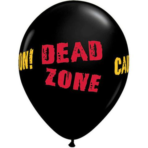 BALLOONS LATEX - DEAD ZONE PACK 6