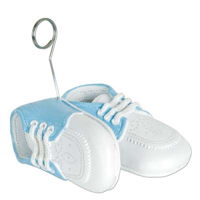BALLOON WEIGHT - BLUE BABY SHOES