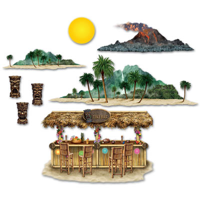 INSTA THEME - TIKI BAR & ISLAND