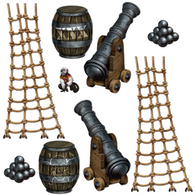 INSTA THEME - PIRATE SHIP PROPS