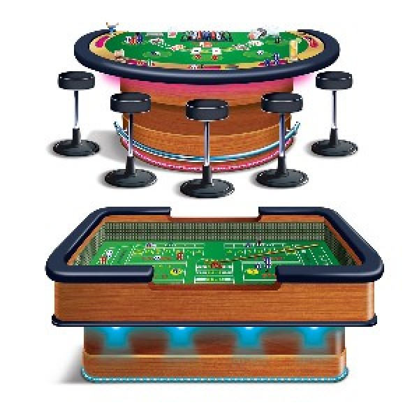 SCENE SETTER INSTA THEME PROPS - BLACK JACK TABLES