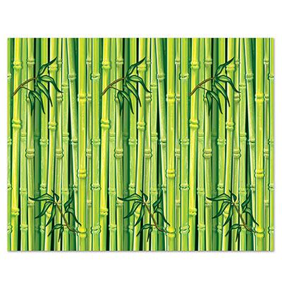 Image of Insta Theme  Green Bamboo Wall Back Drop