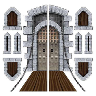 SCENE SETTER - CASTLE DOOR & WINDOW PROPS