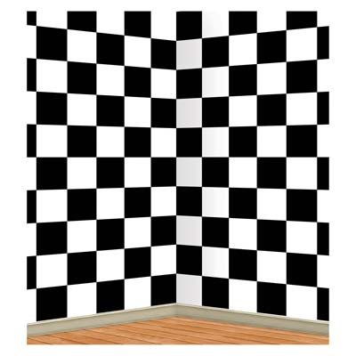 INSTA THEME - CHECKERED WALL BACK DROP