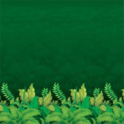 SCENE SETTER - JUNGLE FOLIAGE SCENE SETTER BACKDROP