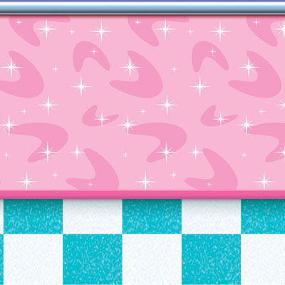 INSTA THEME - SODA SHOP WALL BACK DROP