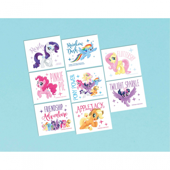 MY LITTLE PONY TATTOOS - PACK 8