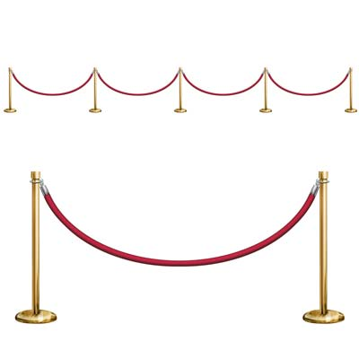 SCENE SETTER - HOLLYWOOD ADD ON STANCHION PROP