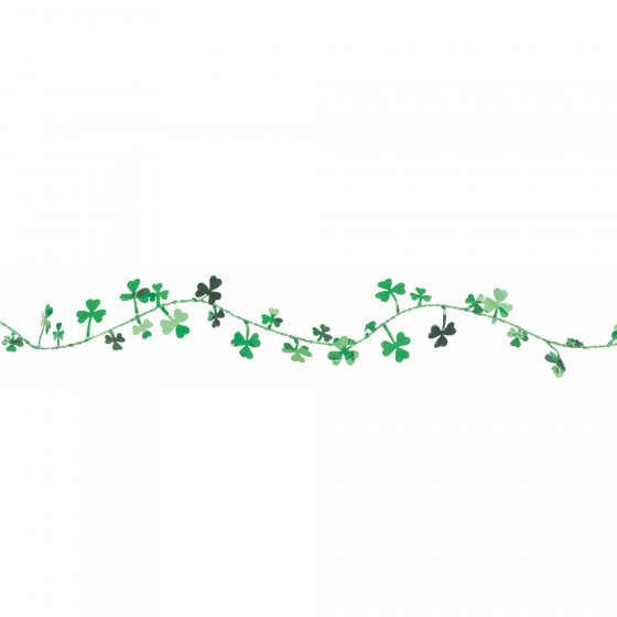 SHAMROCK WIRE GARLAND - 3.65M