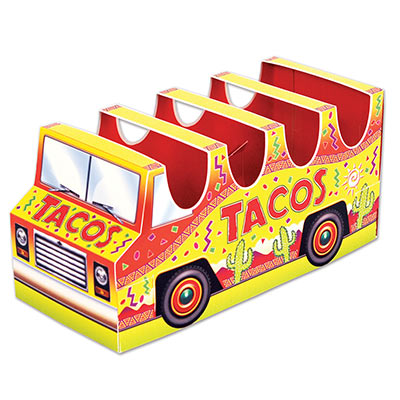 MEXICAN FIESTA TACO TRUCK 3D TABLE CENTREPIECE