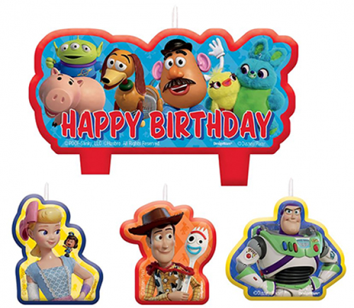 TOY STORY 4 CANDLE SET
