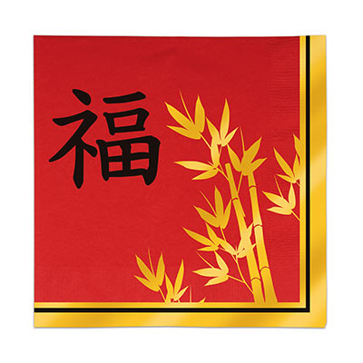 ASIAN LUNCH NAPKINS - PACK OF 16