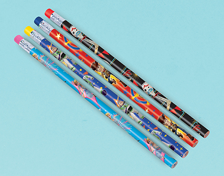 PARTY FAVOURS - TOY STORY 4 PENCILS PACK OF 8