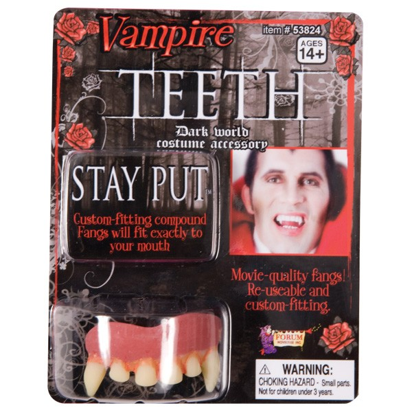 VAMPIRE TEETH - MOVIE QUALITY