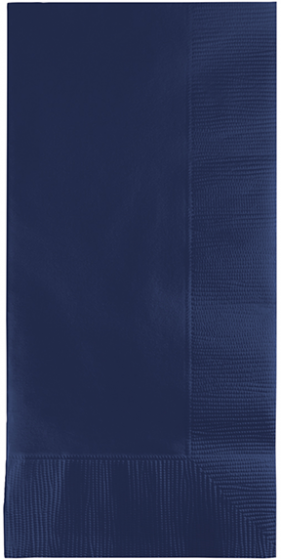 NAPKINS - NAVY FLAG BLUE DINNER GT FOLD PACK 50