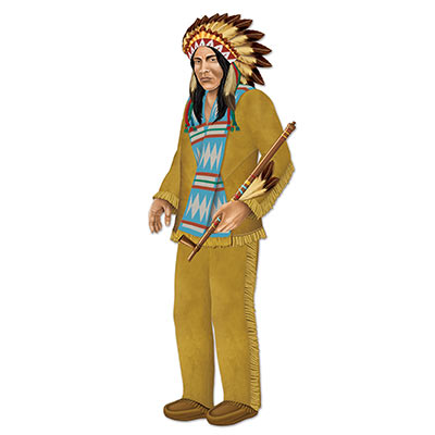 JOINTED INDIAN CHIEF CUT OUT