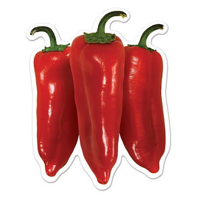 MEXICAN CHILLI MINI CUT OUTS PACK OF 10