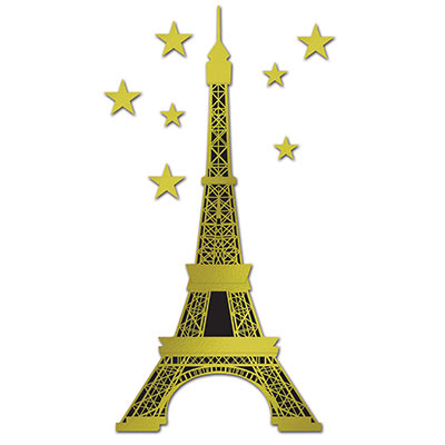 FRENCH EIFFEL TOWER JOINTED CUT OUT