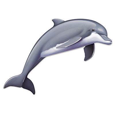 JOINTED DOLPHIN CUT OUT - LARGE