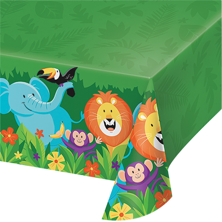 JUNGLE SAFARI ADVENTURE TABLE COVER